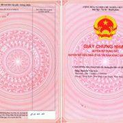 giấy chứng nhận quyền sử dụng đất