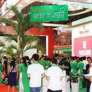 Khách Tham quan Giang hàng phúc khang dự án Eco Town