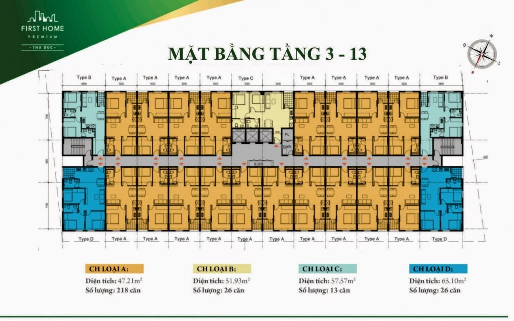 First Home Thu Duc_mat bang tang 3 - 13