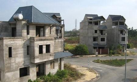 nhà xây thô ở những dự án bán nhà